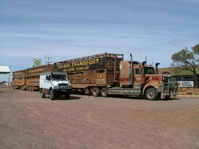 Bremach Road Train Stuart Highway